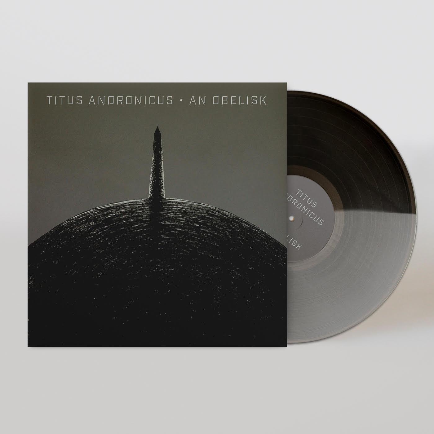 an obelisk LP front